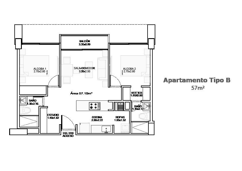 Planos del proyecto Accanto