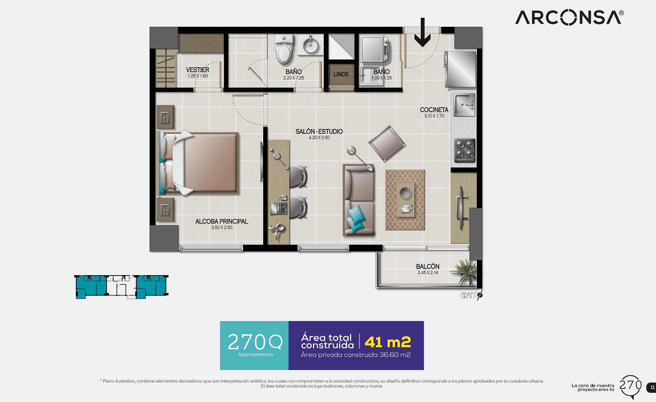 Planos del proyecto 270Q
